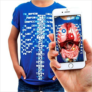 Educational Augmented Reality T-Shirt-Apparel - www.Gifteee.com - Cool Gifts \ Unique Gifts - The Best Gifts for Men, Women and Kids of All Ages