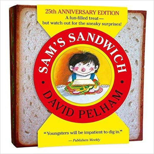 Sam's Sandwich-book - www.Gifteee.com - Cool Gifts \ Unique Gifts - The Best Gifts for Men, Women and Kids of All Ages
