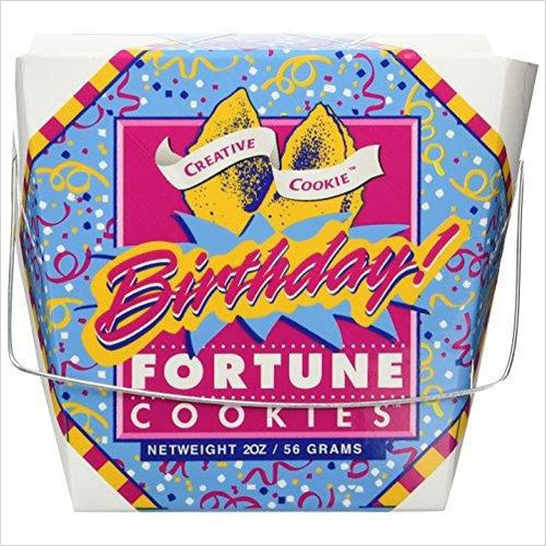 Happy Birthday Fortune Cookies-Grocery - www.Gifteee.com - Cool Gifts \ Unique Gifts - The Best Gifts for Men, Women and Kids of All Ages