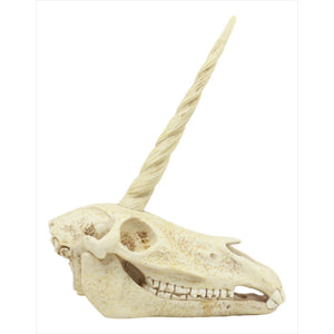 Unicorn Skull Statue-Home - www.Gifteee.com - Cool Gifts \ Unique Gifts - The Best Gifts for Men, Women and Kids of All Ages