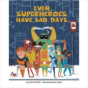 Even Superheroes Have Bad Days-Book - www.Gifteee.com - Cool Gifts \ Unique Gifts - The Best Gifts for Men, Women and Kids of All Ages