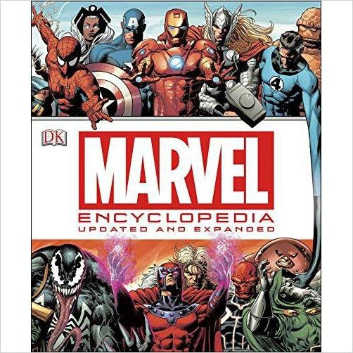 Marvel Encyclopedia - Gifteee. Find cool & unique gifts for men, women and kids