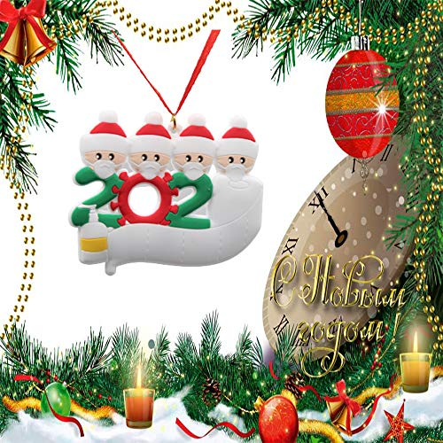 Covid Personalized Christmas Ornament Kit