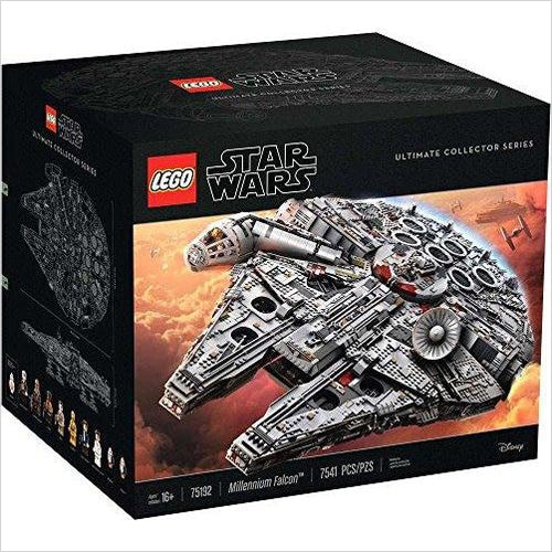 Lego Star Wars (75192) - Millennium Falcon - Find the most unique and unusual gifts. Weird gifts ideas that you never saw before. unusual gadgets, unique products that simply very odd at Gifteee Odd gifts, Unusual Gift ideas
