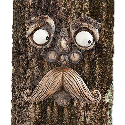 Outdoor Tree Hugger Sculpture-Lawn & Patio - www.Gifteee.com - Cool Gifts \ Unique Gifts - The Best Gifts for Men, Women and Kids of All Ages