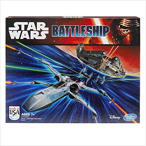 Battleship: Star Wars Edition Game - Find unique gifts for Star Wars fans, new star wars games and Star wars LEGO sets, star wars collectibles, star wars gadgets and kitchen accessories at Gifteee Cool gifts, Unique Gifts for Star Wars fans