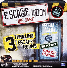 Load image into Gallery viewer, Escape Room The Game with 3 Thrilling Escape Rooms to Play