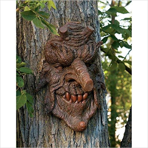Poison Oak: Greenman Tree Sculpture-Lawn & Patio - www.Gifteee.com - Cool Gifts \ Unique Gifts - The Best Gifts for Men, Women and Kids of All Ages