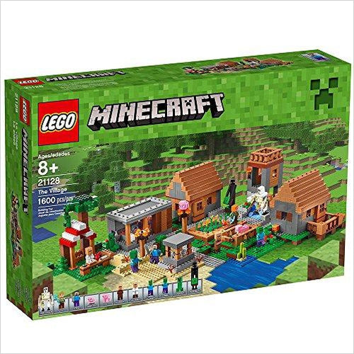 LEGO Minecraft The Village - Gifteee. Find cool & unique gifts for men, women and kids