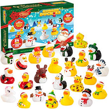 Load image into Gallery viewer, Rubber Ducks Christmas 24 Days Countdown Advent Calendar