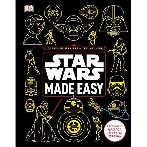 Star Wars Made Easy: A Beginner's Guide to a Galaxy Far, Far Away-Book - www.Gifteee.com - Cool Gifts \ Unique Gifts - The Best Gifts for Men, Women and Kids of All Ages