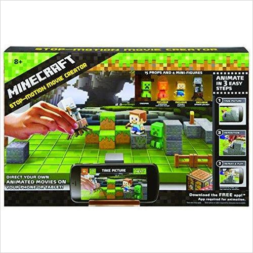 Minecraft Stop-Motion Animation Studio-Toy - www.Gifteee.com - Cool Gifts \ Unique Gifts - The Best Gifts for Men, Women and Kids of All Ages