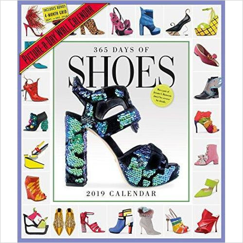 365 Days of Shoes Picture-A-Day Wall Calendar 2019-Book - www.Gifteee.com - Cool Gifts \ Unique Gifts - The Best Gifts for Men, Women and Kids of All Ages
