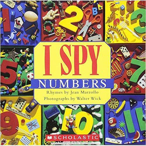 I Spy Numbers-book - www.Gifteee.com - Cool Gifts \ Unique Gifts - The Best Gifts for Men, Women and Kids of All Ages