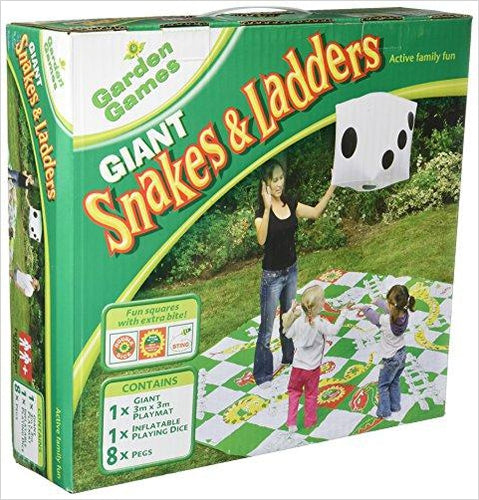 Giant Snakes & Ladders Game - Gifteee. Find cool & unique gifts for men, women and kids