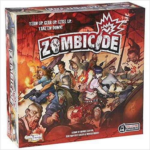 Zombicide Base Game-Toy - www.Gifteee.com - Cool Gifts \ Unique Gifts - The Best Gifts for Men, Women and Kids of All Ages