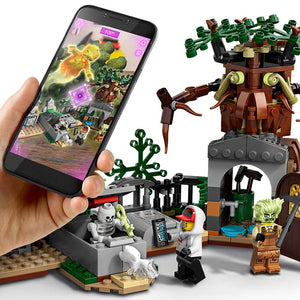 LEGO Hidden Side Graveyard Mystery (7+) Interactive Augmented Reality Playset-Toy - www.Gifteee.com - Cool Gifts \ Unique Gifts - The Best Gifts for Men, Women and Kids of All Ages