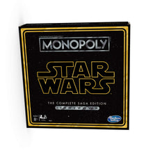 Load image into Gallery viewer, Monopoly: Star Wars Complete Saga Edition Board Game - Find unique gifts for Star Wars fans, new star wars games and Star wars LEGO sets, star wars collectibles, star wars gadgets and kitchen accessories at Gifteee Cool gifts, Unique Gifts for Star Wars fans