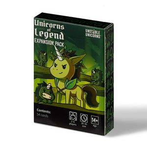 Unstable Unicorns Unicorns of Legends Expansion Pack