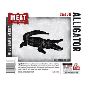 Cajun Alligator Jerky-Grocery - www.Gifteee.com - Cool Gifts \ Unique Gifts - The Best Gifts for Men, Women and Kids of All Ages
