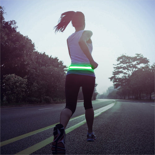 LED Reflective Belt - Find the perfect gift for a sport fan, gifts for health fitness fans at Gifteee Cool gifts, Unique Gifts for wellness, sport and fitness