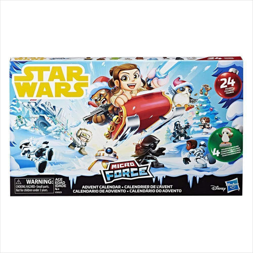 Star Wars Micro Force Advent Calendar - Find unique gifts for Star Wars fans, new star wars games and Star wars LEGO sets, star wars collectibles, star wars gadgets and kitchen accessories at Gifteee Cool gifts, Unique Gifts for Star Wars fans