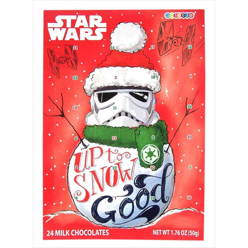 Star Wars Stormtrooper Chocolate Candy Christmas Advent Calendar - Find unique gifts for Star Wars fans, new star wars games and Star wars LEGO sets, star wars collectibles, star wars gadgets and kitchen accessories at Gifteee Cool gifts, Unique Gifts for Star Wars fans