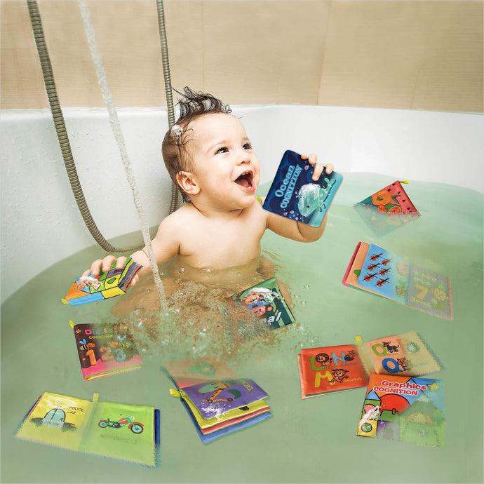 Baby Bath Books - Find unique gifts for a newborn baby and cool gifts for toddlers ages 0-4 year old, gifts for your kids birthday or Christmas, special baby shower gifts and age reveal gifts at Gifteee Unique Gifts, Cool gifts for babies and toddlers