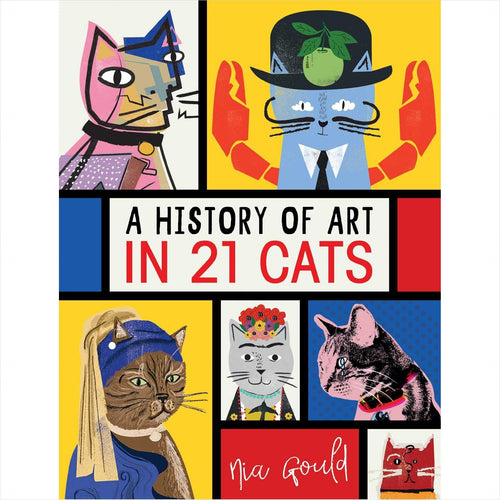 A History of Art in 21 Cats-Book - www.Gifteee.com - Cool Gifts \ Unique Gifts - The Best Gifts for Men, Women and Kids of All Ages
