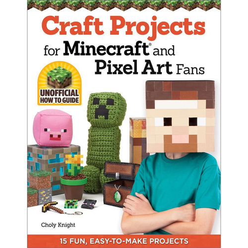 Craft Projects for Minecraft and Pixel Art Fans-Book - www.Gifteee.com - Cool Gifts \ Unique Gifts - The Best Gifts for Men, Women and Kids of All Ages