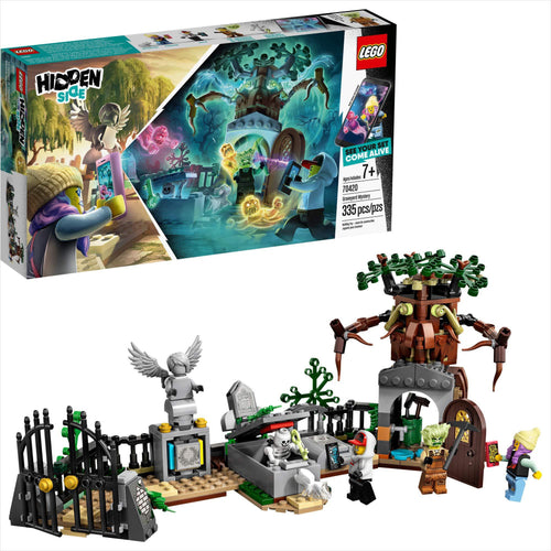 LEGO Hidden Side Graveyard Mystery (7+) Interactive Augmented Reality Playset - Gifteee. Find cool & unique gifts for men, women and kids