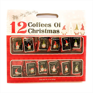 12 Gourmet Coffees of Christmas Holiday Gift Set-Grocery - www.Gifteee.com - Cool Gifts \ Unique Gifts - The Best Gifts for Men, Women and Kids of All Ages