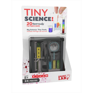 Tiny Science - 20 Experiments - For Traveling-Toy - www.Gifteee.com - Cool Gifts \ Unique Gifts - The Best Gifts for Men, Women and Kids of All Ages