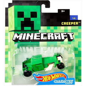 Hot Wheels Minecraft Creeper Vehicle-Toy - www.Gifteee.com - Cool Gifts \ Unique Gifts - The Best Gifts for Men, Women and Kids of All Ages