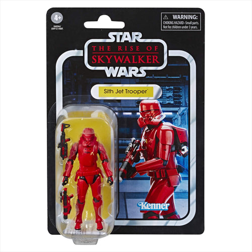 Star Wars The Vintage Collection The Rise of Skywalker Sith Jet Trooper Toy - Find unique gifts for Star Wars fans, new star wars games and Star wars LEGO sets, star wars collectibles, star wars gadgets and kitchen accessories at Gifteee Cool gifts, Unique Gifts for Star Wars fans