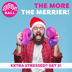 Arggh Giant Stress Ball - Find unique decor gifts for the office and workplace, get cool gadgets for your office desk and cubicle at Gifteee Cool gifts, Unique decor Gifts for the office and workplace