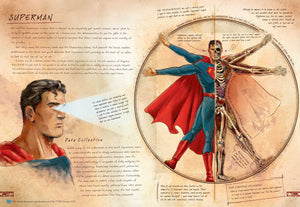 DC Superheros Comics: Anatomy of a Metahuman-Book - www.Gifteee.com - Cool Gifts \ Unique Gifts - The Best Gifts for Men, Women and Kids of All Ages