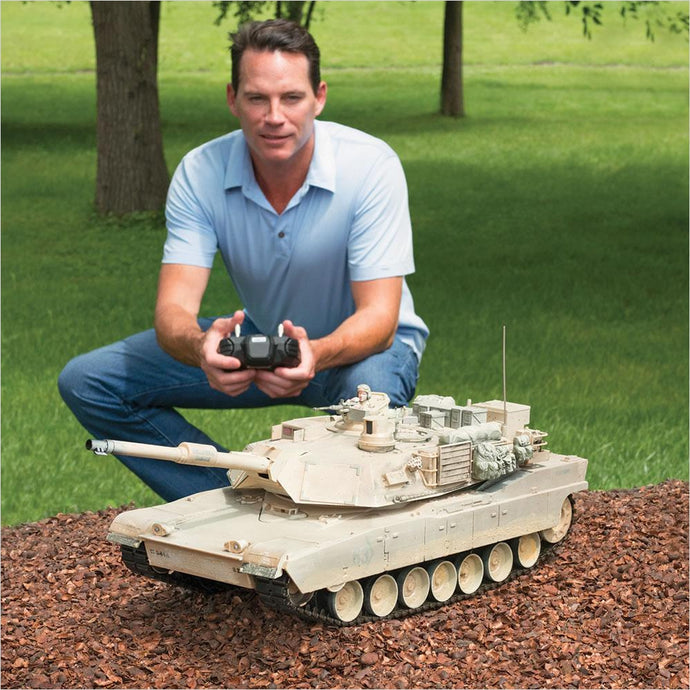 The Remote Controlled Abrams Tank - Find unique gifts for teen boys and young men age 12-18 year old, gifts for your son, gifts for a teenager birthday or Christmas at Gifteee Unique Gifts, Cool gifts for teenage boys