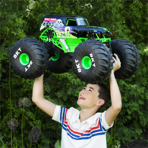 All-Terrain Remote Control Monster Truck with Lights - Gifteee. Find cool & unique gifts for men, women and kids