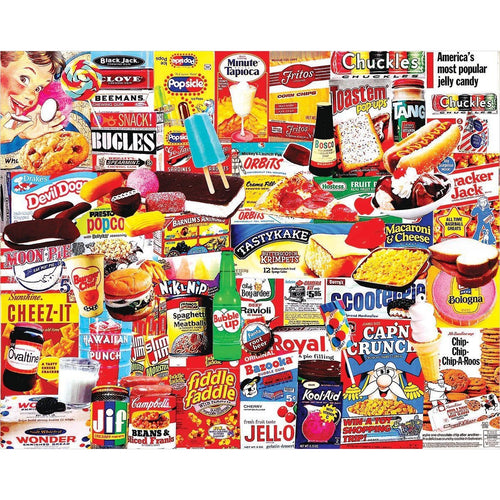 Things I Ate As A Kid - 1000 Piece Jigsaw Puzzle - Gifteee. Find cool & unique gifts for men, women and kids