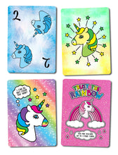 Load image into Gallery viewer, Unicards: Unicorn Card Game - Find Unicorn gifts for girls and unicorn gifts for women, magical unicorn gifts ideas - jewelry, clothing, accessories and games at Gifteee Unique Gifts, Cool gifts for unicorn lovers
