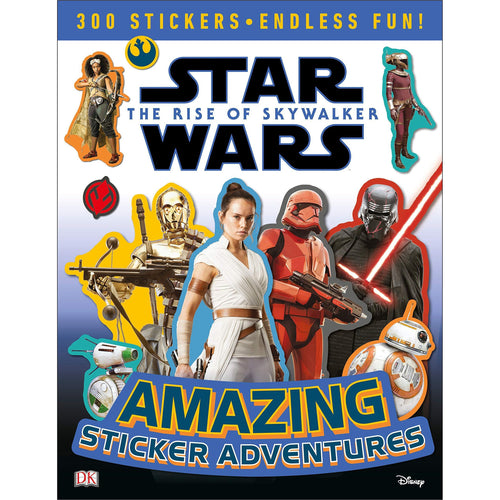 Star Wars The Rise of Skywalker Amazing Sticker Adventures - Find unique gifts for Star Wars fans, new star wars games and Star wars LEGO sets, star wars collectibles, star wars gadgets and kitchen accessories at Gifteee Cool gifts, Unique Gifts for Star Wars fans