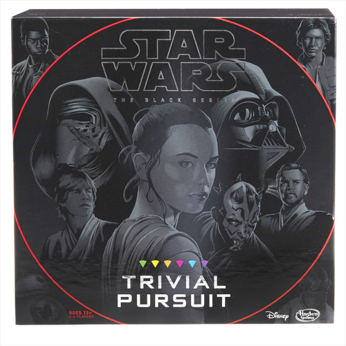 Hasbro Trivial Pursuit: Star Wars the Black Series Edition - Find unique gifts for Star Wars fans, new star wars games and Star wars LEGO sets, star wars collectibles, star wars gadgets and kitchen accessories at Gifteee Cool gifts, Unique Gifts for Star Wars fans