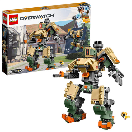 LEGO Overwatch Bastion Building Kit - Gifteee. Find cool & unique gifts for men, women and kids