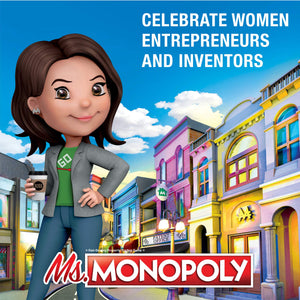Ms.Monopoly Board Game - Find unique gifts for teen girl and young women age 12-18 year old, gifts for your daughter, gifts for a teenager birthday or Christmas at Gifteee Unique Gifts, Cool gifts for teenage girls