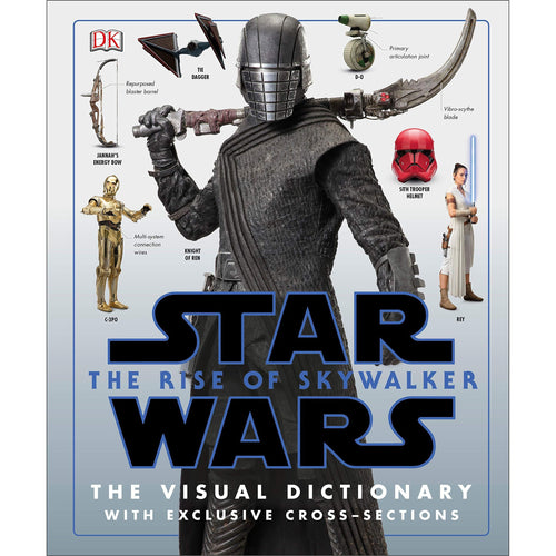 Star Wars The Rise of Skywalker The Visual Dictionary - Find unique gifts for Star Wars fans, new star wars games and Star wars LEGO sets, star wars collectibles, star wars gadgets and kitchen accessories at Gifteee Cool gifts, Unique Gifts for Star Wars fans