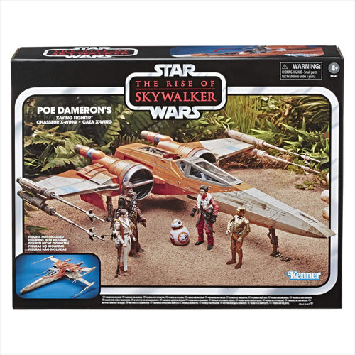 Star Wars The Vintage Collection The Rise of Skywalker Poe Dameron'S X-Wing Fighter Toy Vehicle - Find unique gifts for Star Wars fans, new star wars games and Star wars LEGO sets, star wars collectibles, star wars gadgets and kitchen accessories at Gifteee Cool gifts, Unique Gifts for Star Wars fans