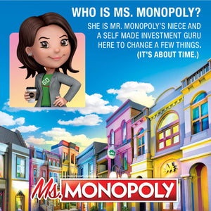 Ms.Monopoly Board Game - Gifteee. Find cool & unique gifts for men, women and kids