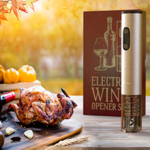 Electric Wine Opener Set-Kitchen - www.Gifteee.com - Cool Gifts \ Unique Gifts - The Best Gifts for Men, Women and Kids of All Ages