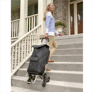 The Stair Climbing Trolley Chair-stair climber - www.Gifteee.com - Cool Gifts \ Unique Gifts - The Best Gifts for Men, Women and Kids of All Ages